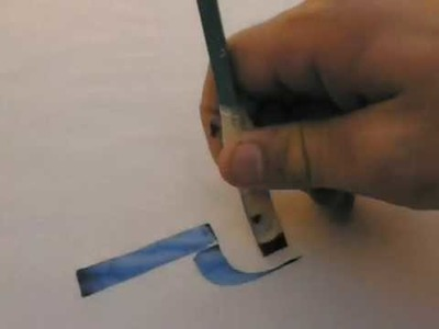 Como hacer una pluma