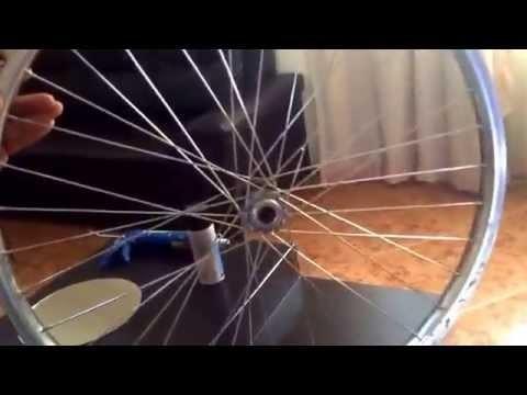 """""""Espejo con Rin de Bicicleta"""" manualidades con artículos reciclados By Rodrigo Zúñiga """"El Rorro"""""""