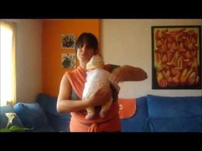 Fular Elástico con Recién Nacido: Preanudado paso a paso