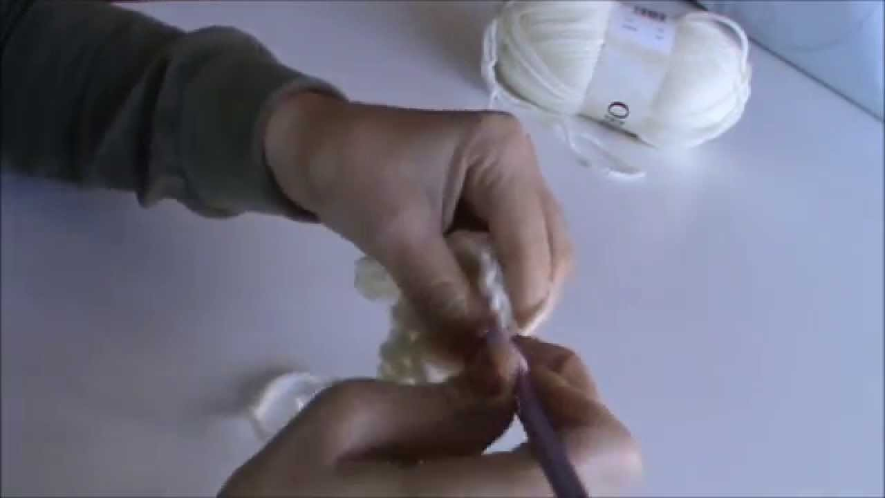 Ganchillo o crochet: Como hacer el punto alto cruzado