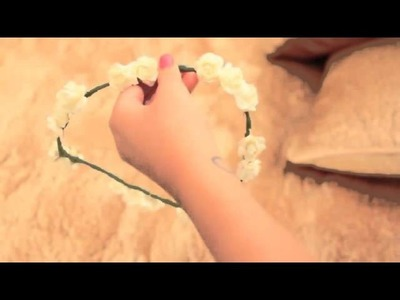 ♥Hola soy Yuya♥. Corona de Flores Increile. (DIY) ♥Yuya