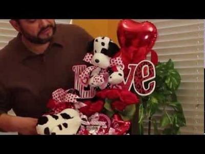 Manualidades centro de mesa o regalo San Valentine. St. Valentine's Day gift or centerpiece