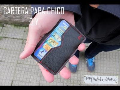 CARTERA PARA CHICO DIY
