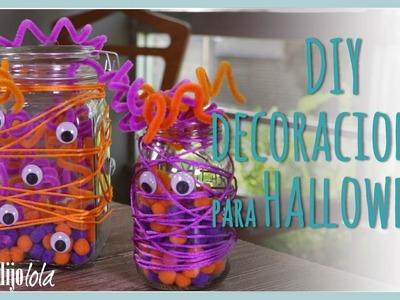Decoraciones para Halloween | DIY decoración para Halloween