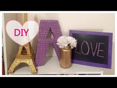 DIY, 3 Ideas Economicas, Faciles y muy Bonitas para DECORAR