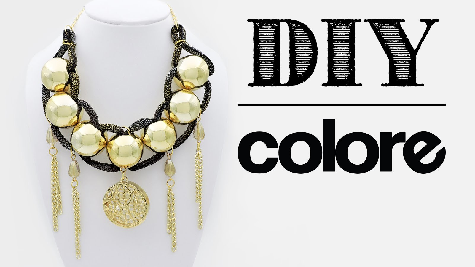 DIY Collar Vinil Sintético y Plastimetal - Colore Accesorios