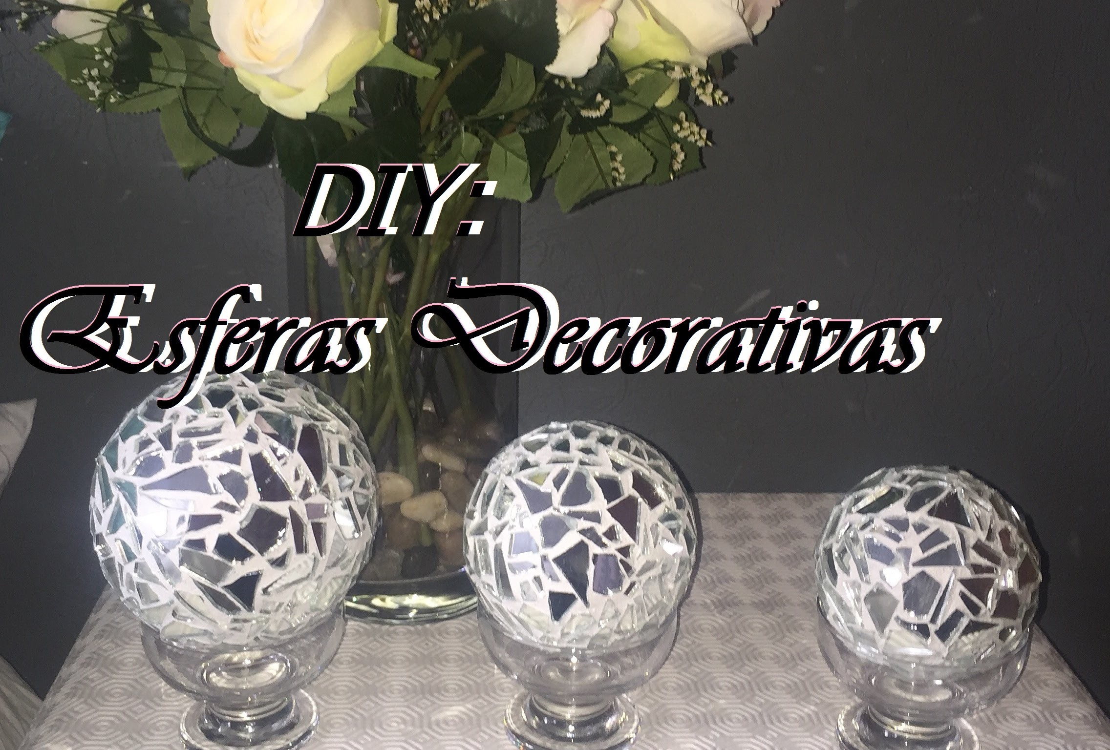 DIY: Esferas Decorativas
