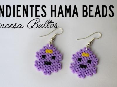DIY Hora de aventuras | Pendientes de la Princesa Bultos con Hama Beads MINI
