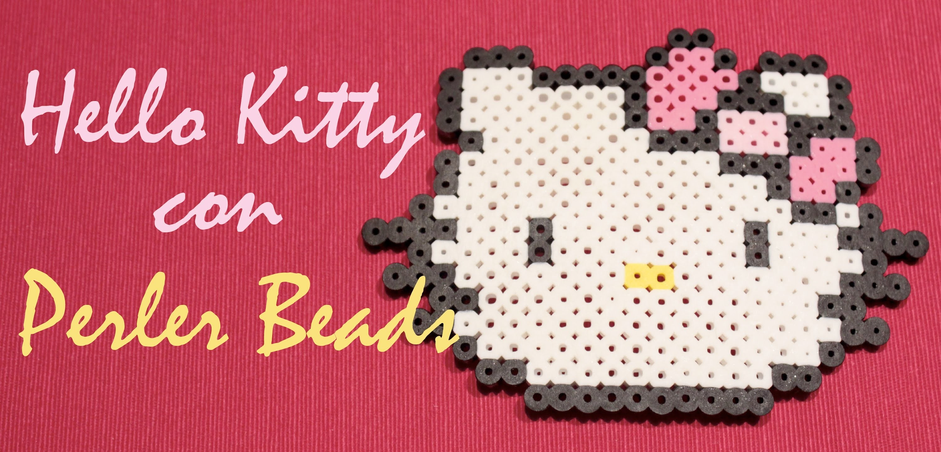 DIY Kitty con Perler Beads #4