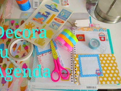 DIY Organiza y Decora tu Agenda Conmigo