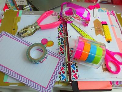Organización de Agenda | DIY Diseños de Clips con Perler Beads