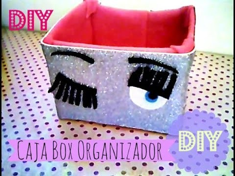 Caja Organizador    Box Organizer    DIY