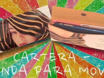 DIY - Cartera - Funda para el móvil con una fotografía