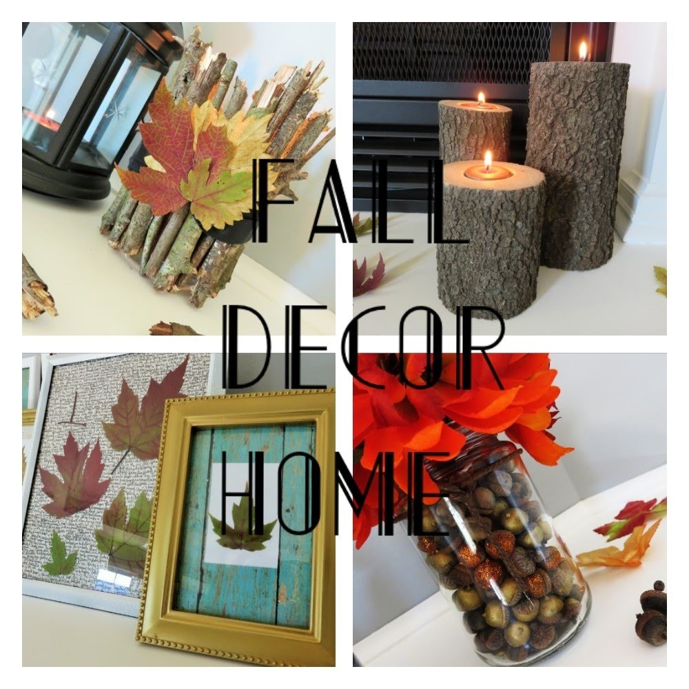 DIY | Decoraciones de Otoño | Fall Decor | Colaboracion ft. Yanyglam25