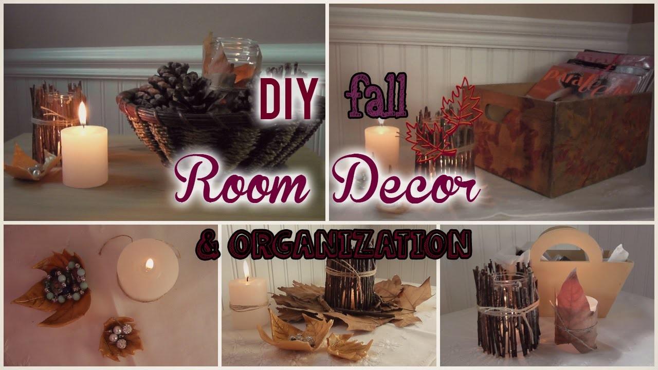 ►Diy fall Room Decor & Organization + SALUDOS