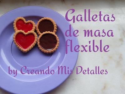 DIY Galletas de masa flexible Sweets Deco - Air dry clay deco biscuit