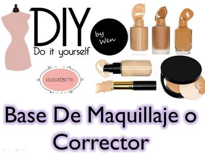 DIY. Hazlo tu misma ♡ Haz tu propia Base de Maquillaje o Corrector | Wen