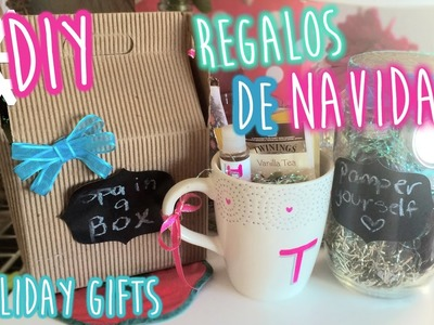 DIY ❄ Regalos Faciles para Navidad | DIY Easy & CHEAP Holiday Gifts Ideas