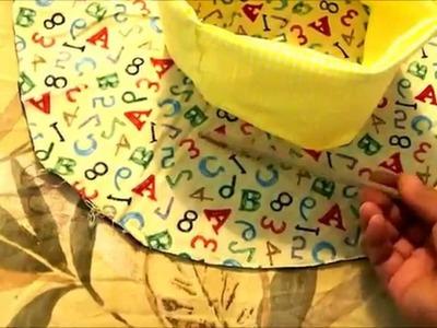 Sombrero de tela hecho a mano rapido y facil. DIY. Para quienle gusta hacer su propia vestimenta