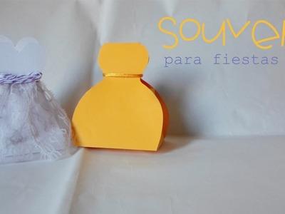 Souvenirs para fiestas Pt.2 || Paper Crafting ||