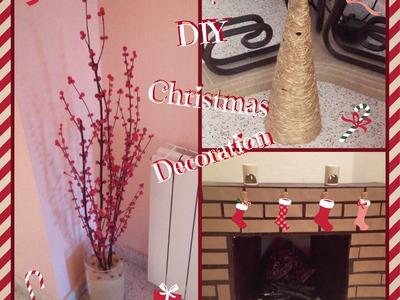 DIY Christmas Decoration ❄ | DECORACIÓN NAVIDEÑA Hecha a Mano