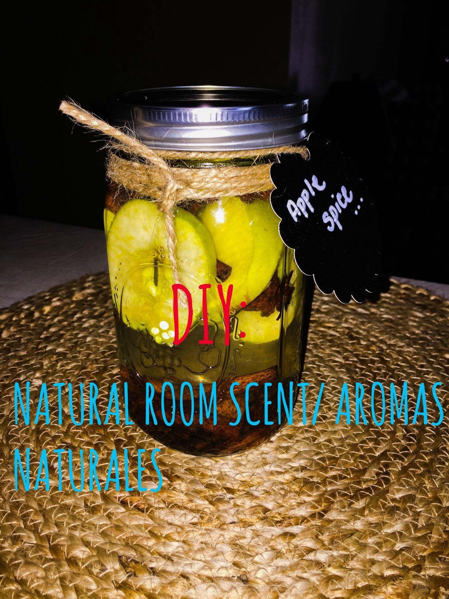 DIY Natural Room Scent. Aromas Naturales