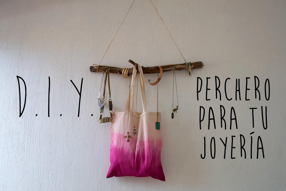 DIY: Perchero para joyería