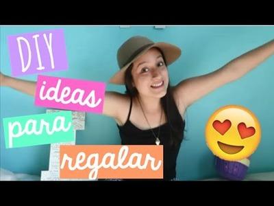 ¡DIY de REGALOS para NAVIDAD!| Luciana Baca