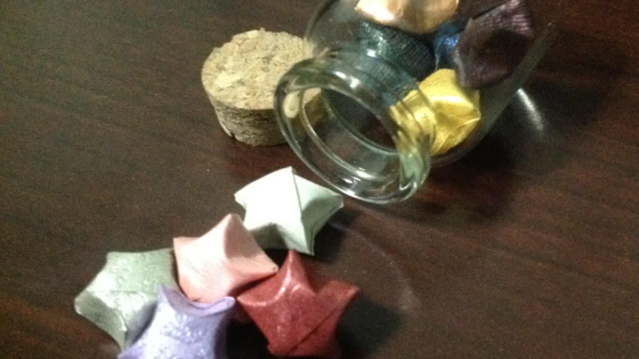 Como hacer bonitas estrellas de papel de Origami. - Hazlo tu Mismo Manualidades - Guidecentral