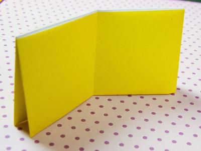 Como hacer una cartera de papel origami Papiroflexia