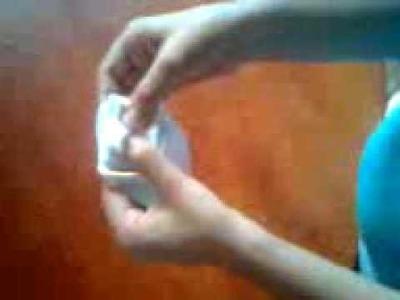 Como hacer una rosa con cinta