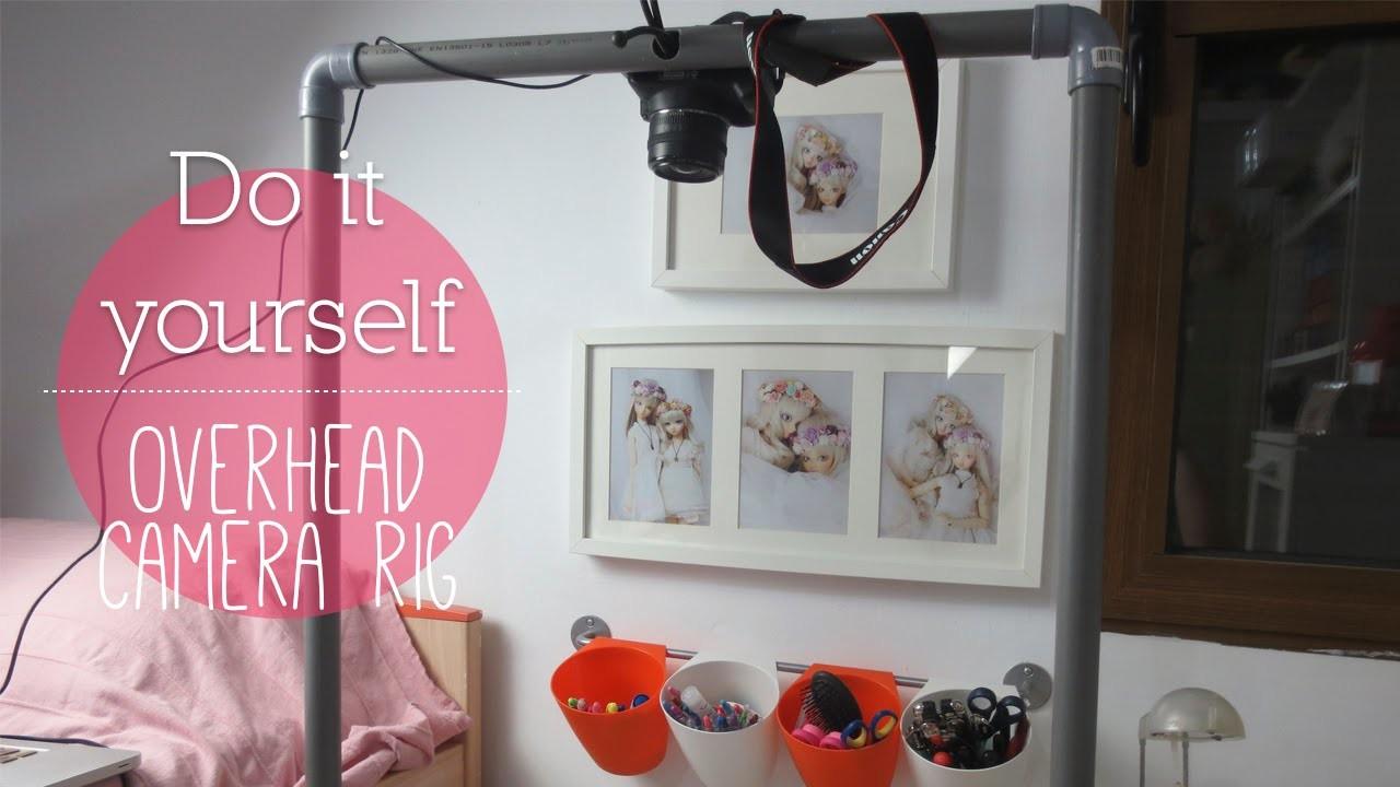 DIY: Soporte para grabar en el escritorio