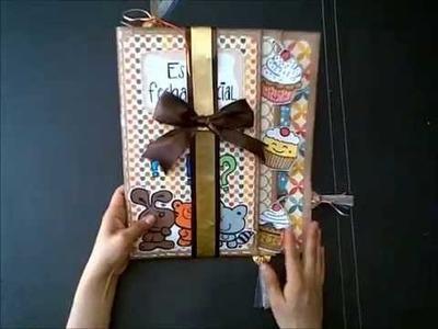DIY: Tarjeta de Cumpleaños (inspiración) scrapbook