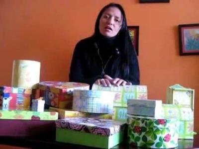 Mensaje de Pilar Vidales - Cajas para Regalo