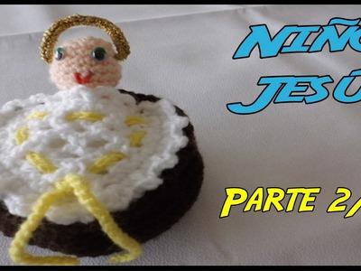 Niños Jesús de crochet Parte 2.2