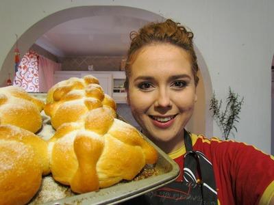 Pan de muerto receta fácil