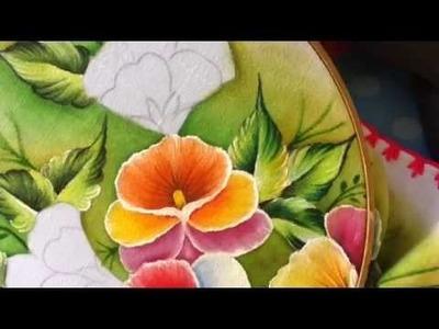 Pintura en tela pensamientos # 4 con cony