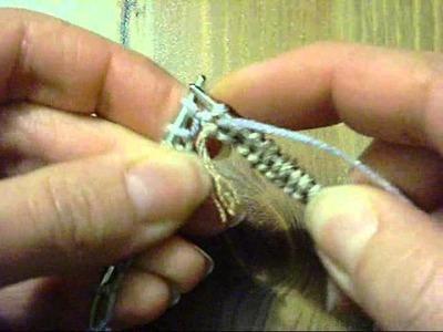 Punto tubular a 5 agujas o circulares