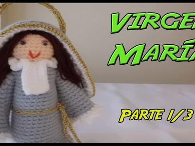 Virgen María de crochet Parte 1.3