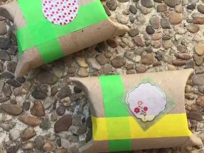 Cajas de regalo manualidades tubos de cartón