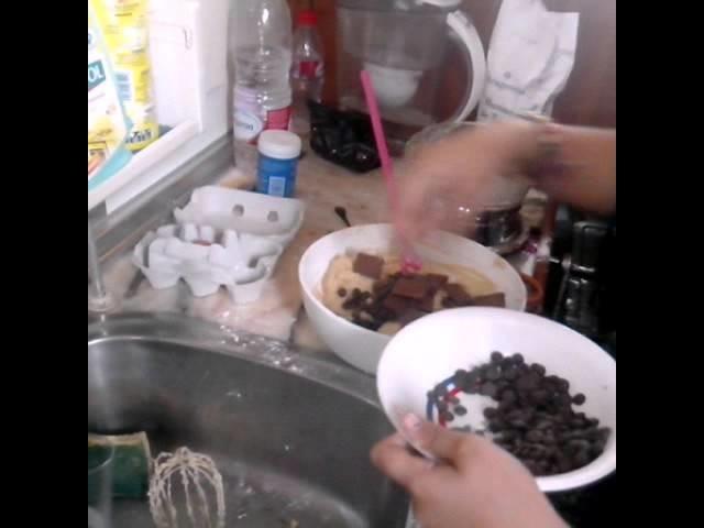 Como hacer galletas con pepitas de chocolate - Manualidades para el aburrimiento