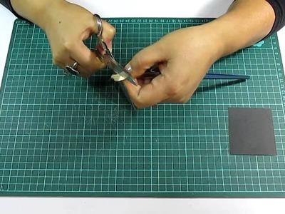Manualidades: Como elaborar tu propio pincel Lengua de Gato (Craft)