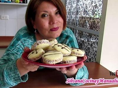 ALFAJORES DE MAICENA - Silvana Cocina y Manualidades