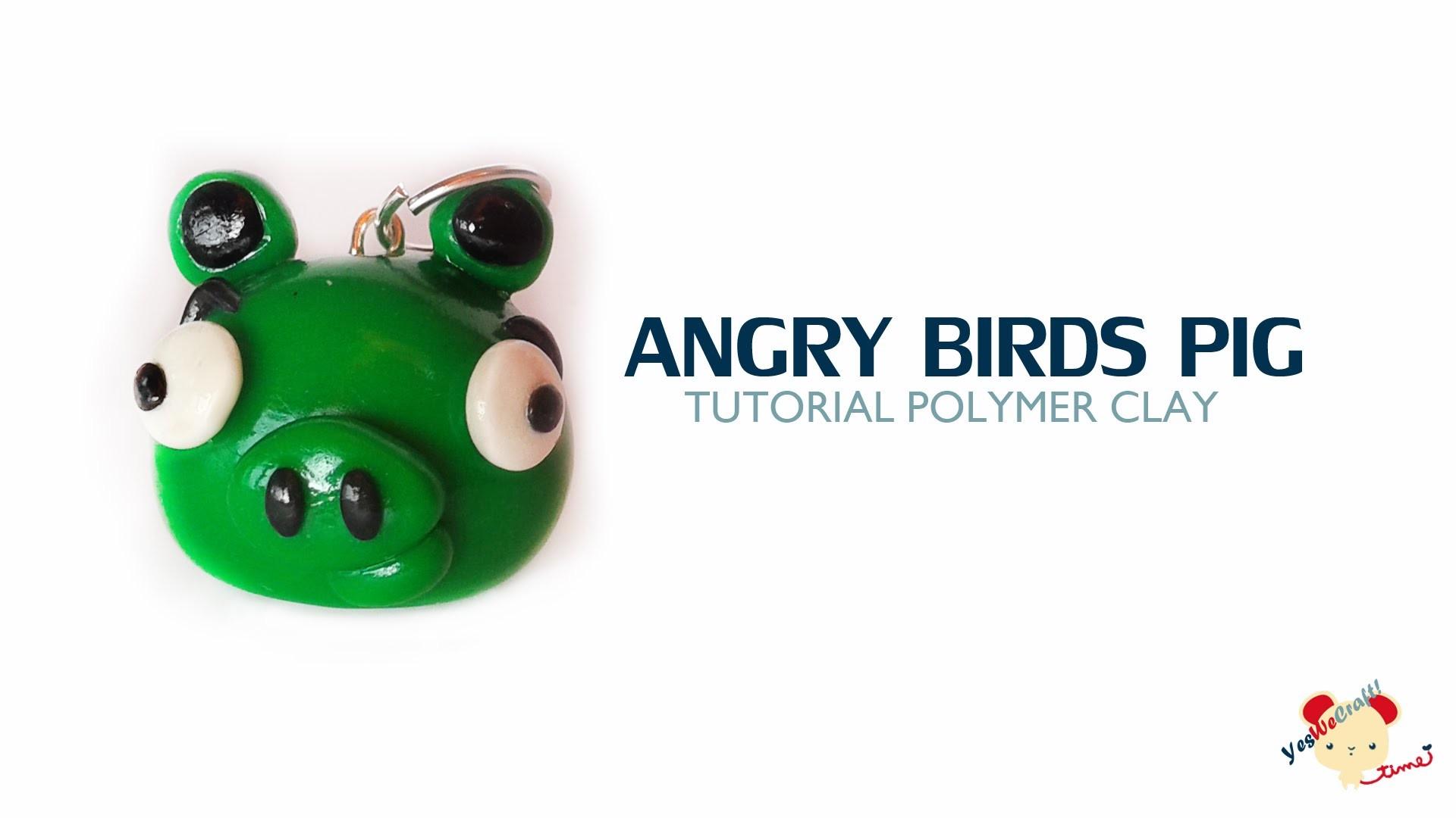Angry Birds Pig Polymer Clay Tutorial. Cerdito Angry Birds de Arcilla Polimérica