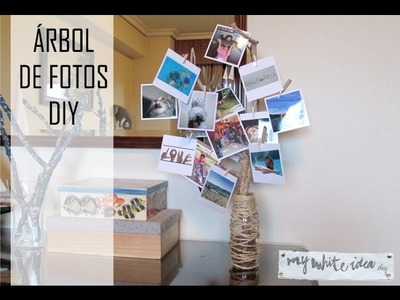 ÁRBOL DE FOTOS DIY