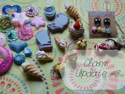 Charm Update #8 ~ Manualidades con resina, arcilla.
