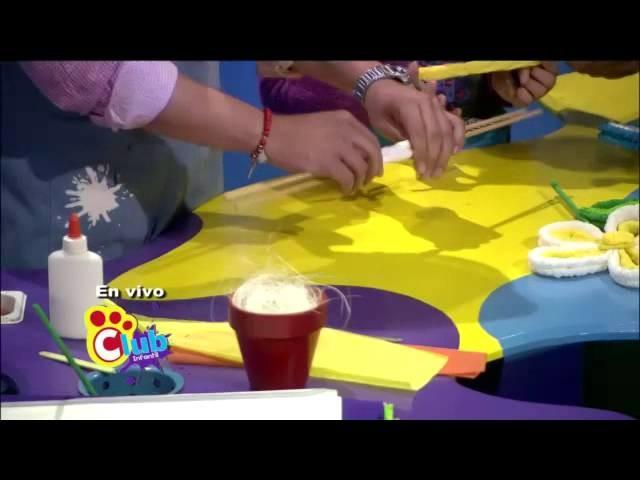 Club Infantil - Manualidades: Flores de papel