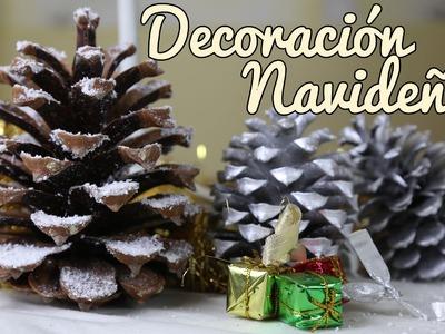 Decoración sencilla de Navidad - Manualidades Navideñas