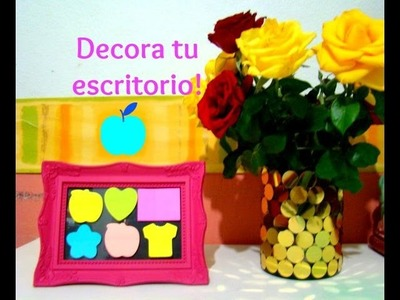 Diy DECORA TU ESCRITORIO ♥