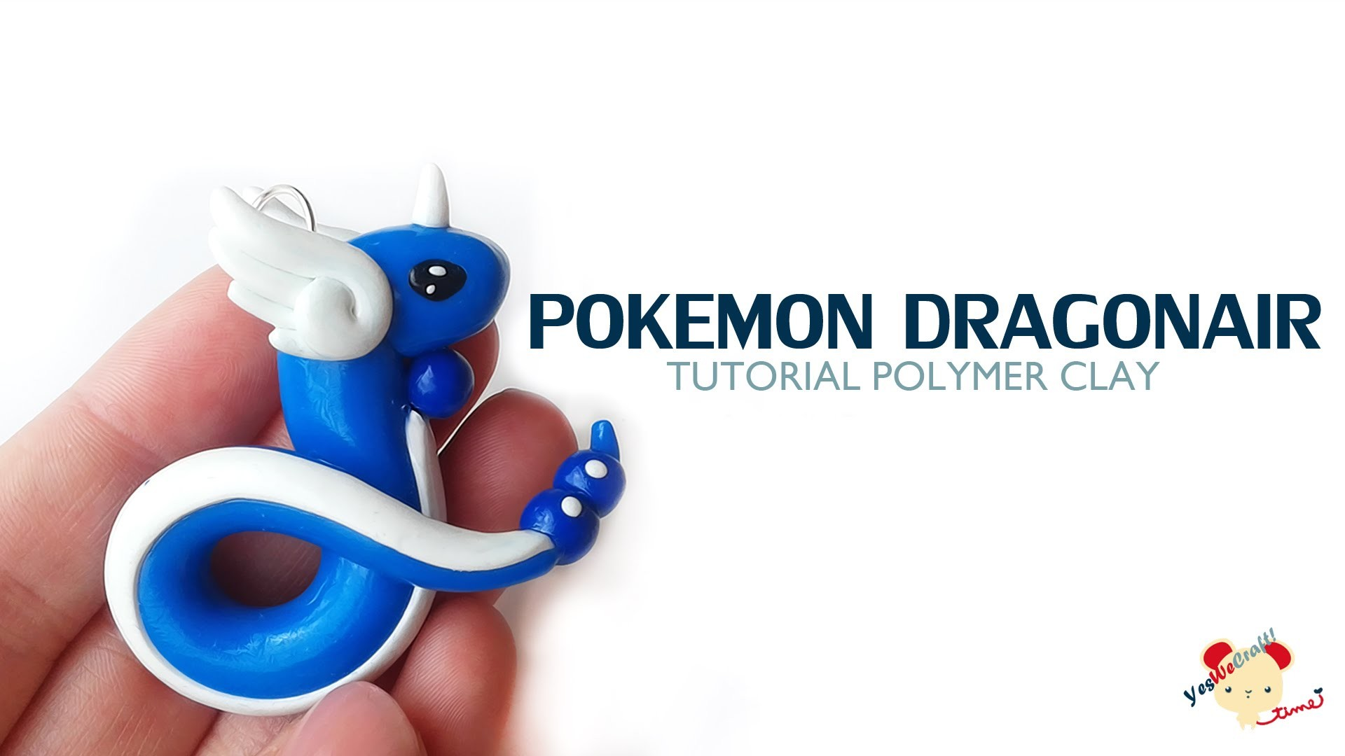 Dragonair Polymer Clay Tutorial. Dragonair Arcilla Polimérica